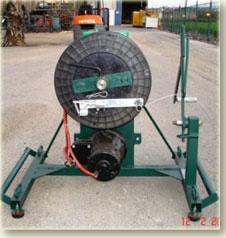 מתקן גלילה (איסוף) חשמלי