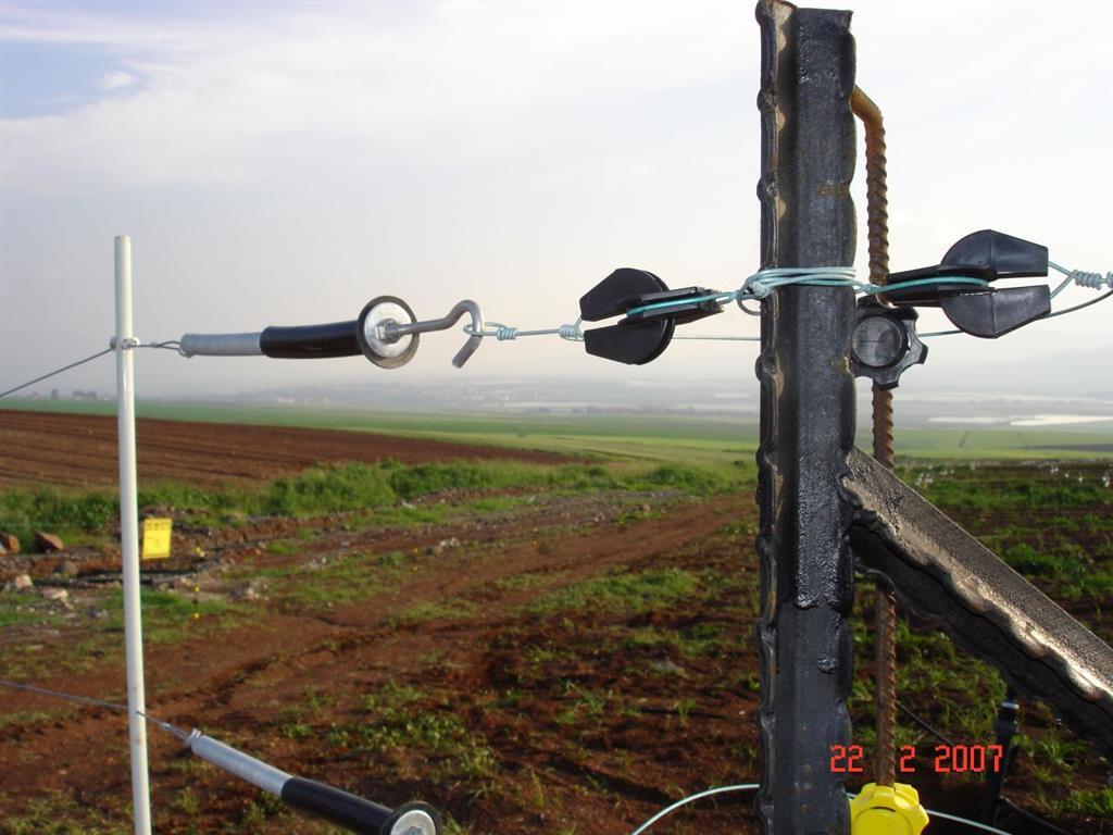 גדר חשמלית בענפי החקלאות השונים